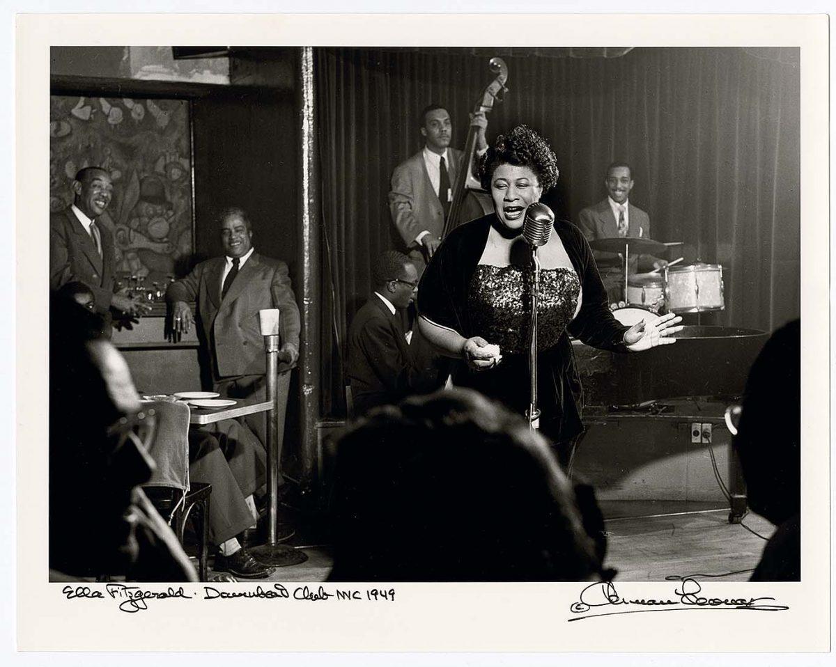 Ella Fitzgerald (Photo: Herman Leonard)