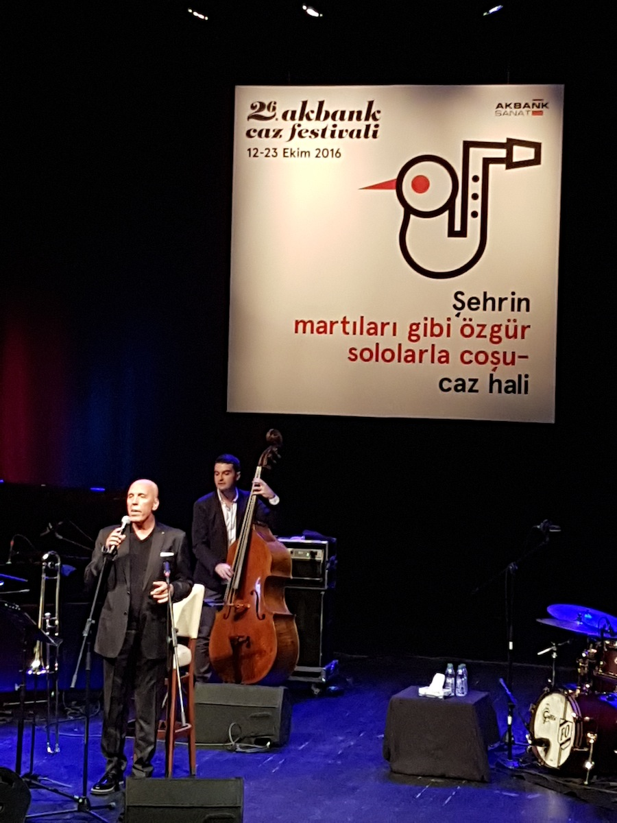 Fatih Erkoç (vo, tr), Kağan Yıldız (b) (Photo: Emre Adam)