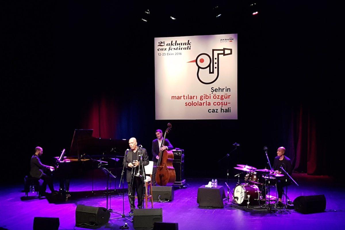 26. Akbank Jazz Festivali'nden, Fatih Erkoç Konserinin Ardından