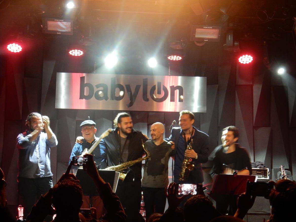 Önder Focan & Şallıel Bros. 'Funkbook' (Photo: Onno Karens)
