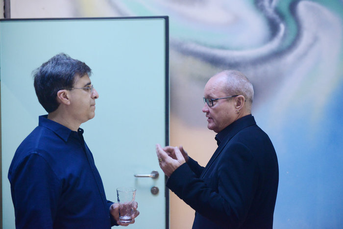 Vince Mendoza & Nils Landgren (Photo: ACT / Lutz Voigtländer)