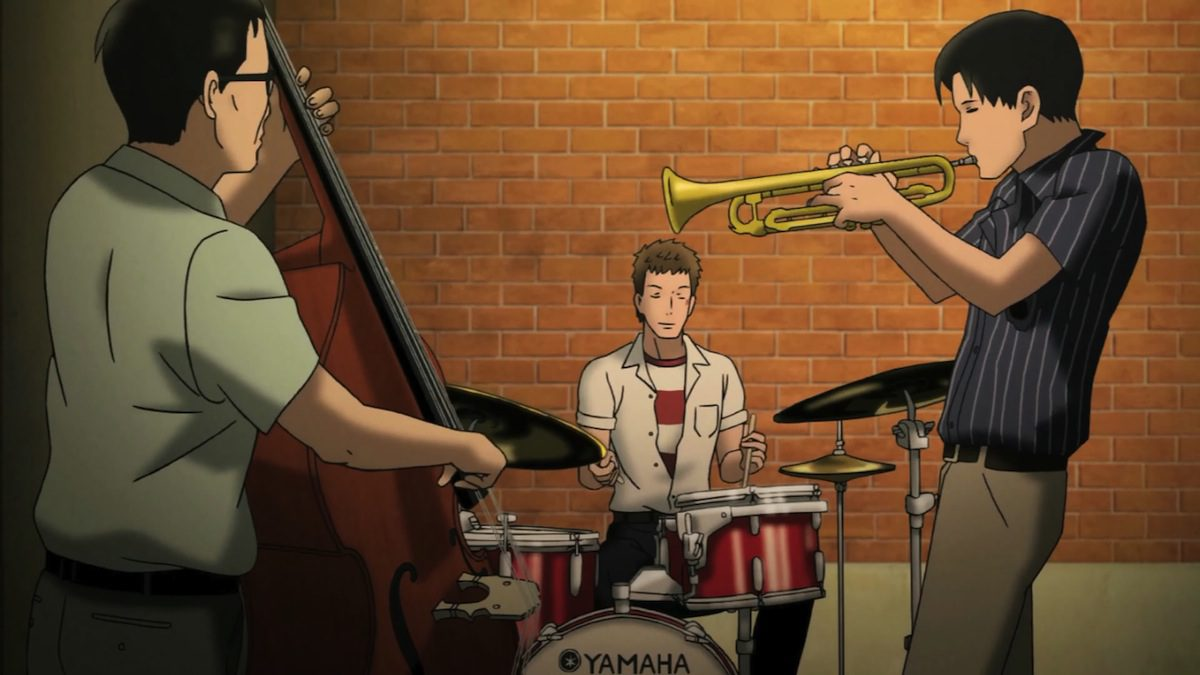 "When Line Meets Jazz: ""Sakamichi No Apollon 