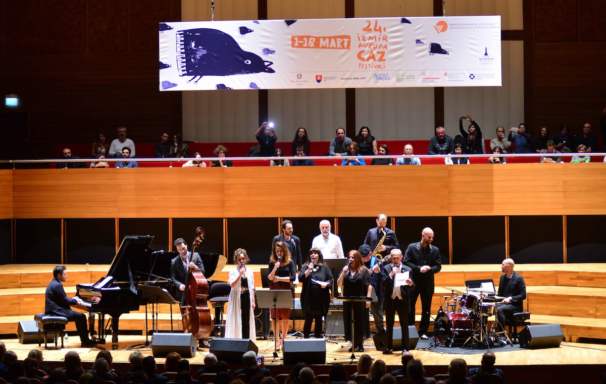 24. İzmir Avrupa Jazz Festivali Bitti