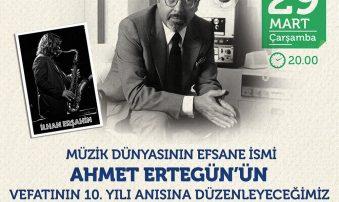 Ahmet Ertegün Ölümünün 10. Yılında Anılıyor