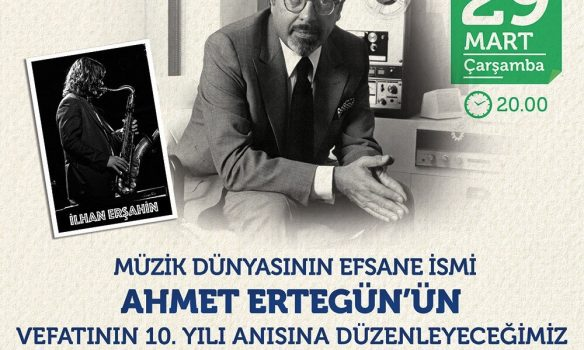 Remembering Ahmet Ertegün on the 10th Anniversary of His Death