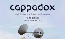 """Cappadox 2018, """"Sessizlik"""" Teması İle Genişliyor"""