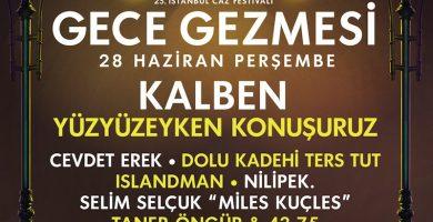 25. İstanbul Jazz Festivali İçin Geri Sayım Devam Ediyor