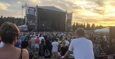 Scenes from the 53rd Pori Jazz Festival