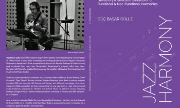 Güç Başar Gülle's Jazz Harmony Book in English is on Amazon