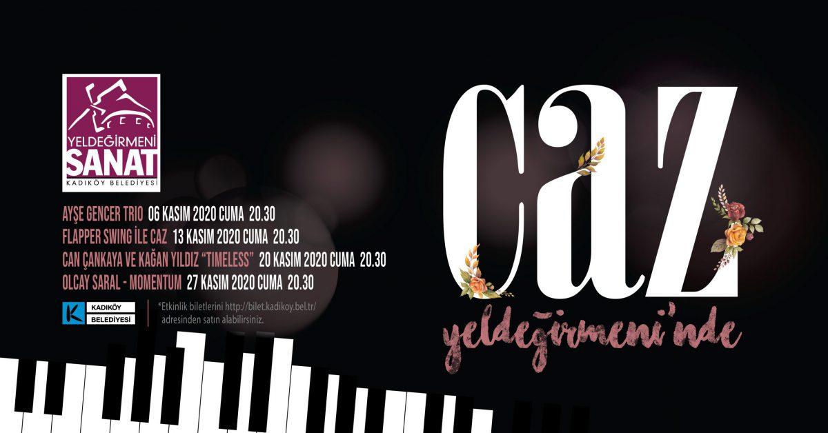 Yeldeğirmeni Sanat'ta Jazz Konserleri Kasım Ayında da Devam Ediyor
