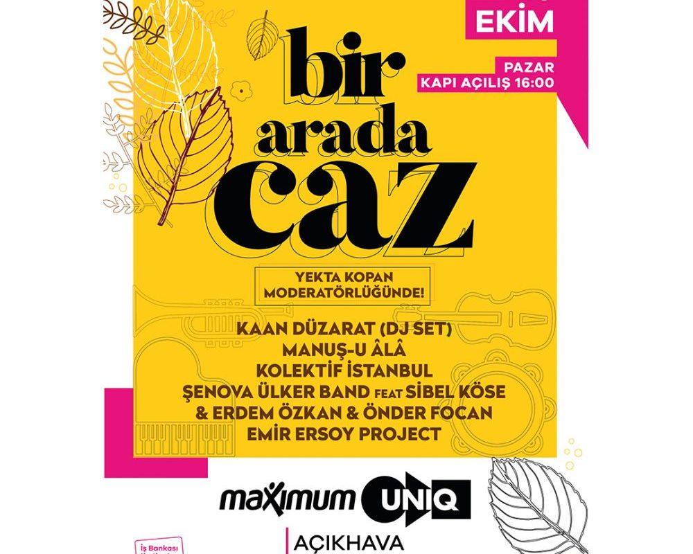 Tek Günlük Caz Festivali: 'Bir Arada Caz'